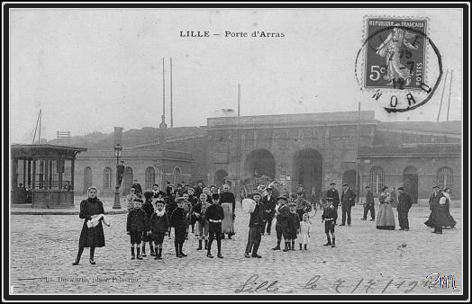 Lille porte d 39 arras rue d 39 artois lille lille remparts - Station essence porte des postes lille ...